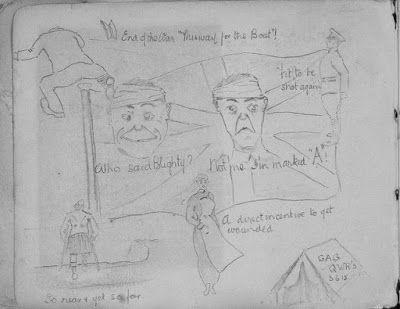 Olive Tree Genealogy Blog: Nursing Sister WW1 Photo Album: 23V Sketch
