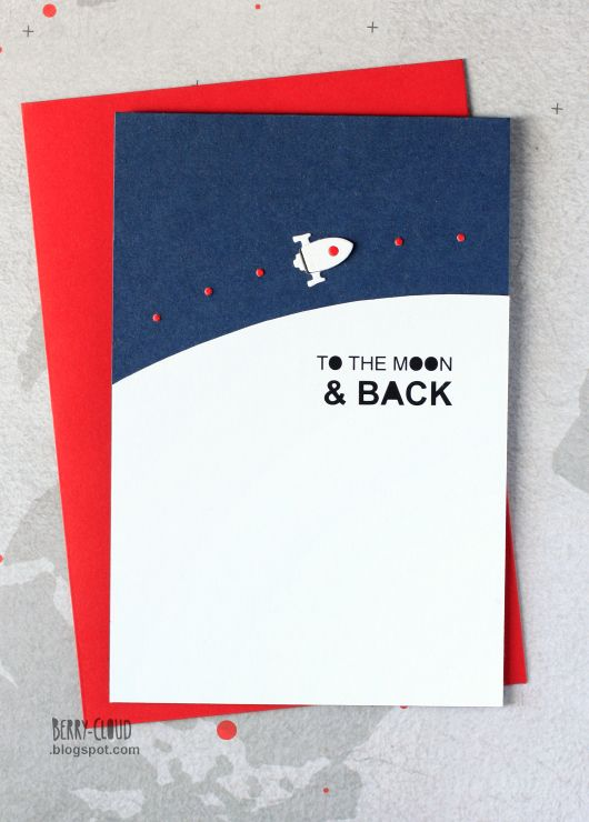 BerryCloud. Creo, ergo sum: To the moon and back / Card