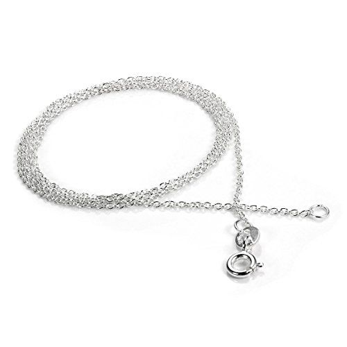 Sterling Silver Belcher Chain 22 Inches