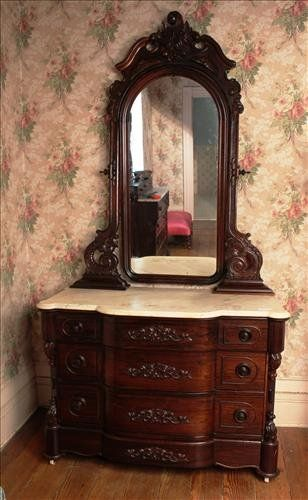 C1860. Rosewood dresser matching 4 pc. Mallard : Lot 57