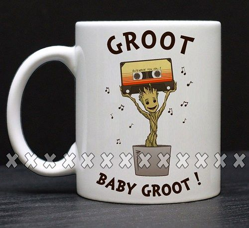 Baby GrootFunny Coffee, Coffee Mugs, Unique Coffee Mugs