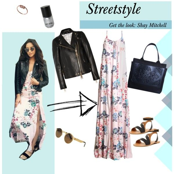 Streetstyle with Shay Mitchell by styligion on Polyvore featuring Mode, Givenchy, 14th & Union and Monki