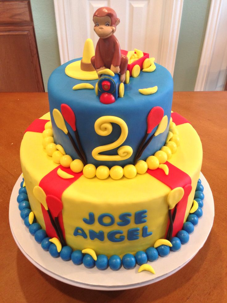 curious george birthday cake 86 best images about birthday ideas for on 3236