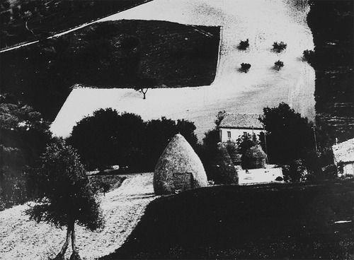 Mario Giacomelli, Landscapes Series, 1953-63 (via wonderfulambiguity)