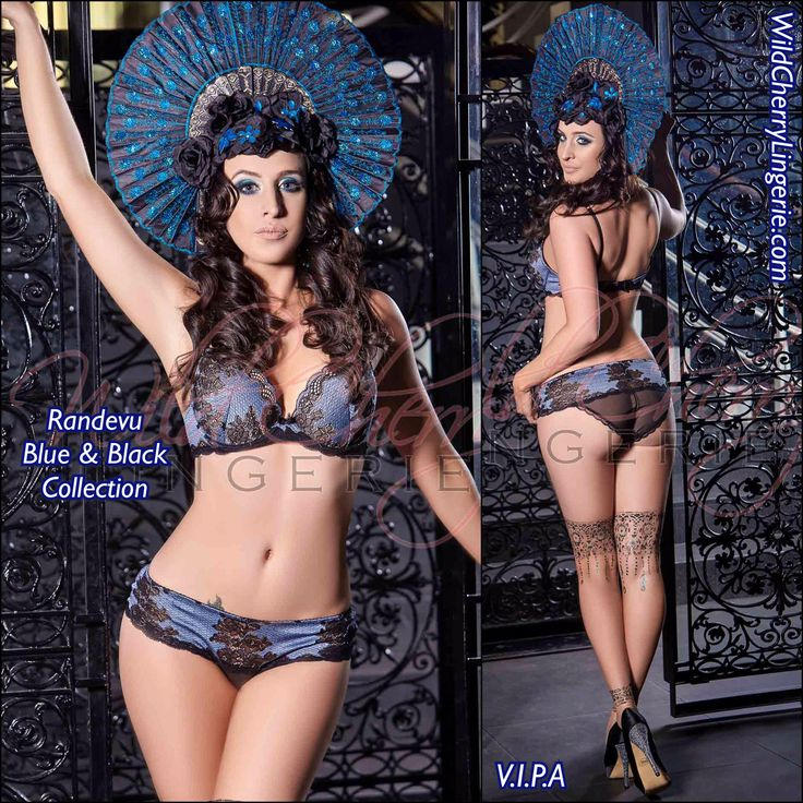 🦋Randevu Blue and Black #Lingerie #Collection 🦋Super Push Up Bra (75A-85C)🦋 Lace SUPER push-up underwired #bra with. Bra increases your bust up to 2 optical sizes, #Breasts seem larger, rounder, sexier, remaining natural. 70% polyamide, 20% lycra, 10% cotton.🦋#Hipster #Panties (XS-XL)🦋Lace panties. Cotton gusset. 70% polyamide, 20% lycra, 10% cotton. 🍒Wild Cherry Lingerie and Swimwear🍒based in Melbourne, Australia🇦🇺 We ship throughout the world📦🌏 💋Explore with us your #sexy…