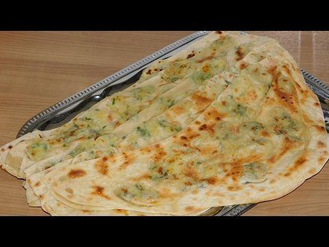 Гёзлеме с картофельной начинкой - YouTube