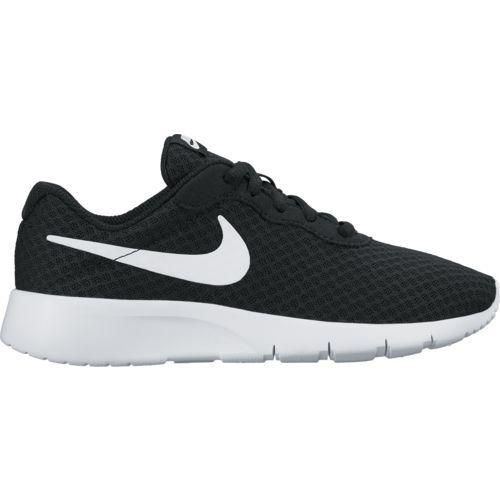 Nike Kids' Tanjun GS Running Shoes (BlackWhite, Size 7