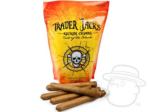 Trader Jack's Kickin' Cigars 6 1/4 x 45—Sealed Pack of 20 - Best Cigar Prices