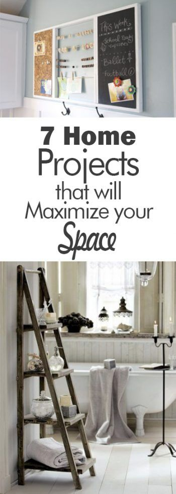 7 Home Projects that will Maximize Your Space - 101 Days of Organization