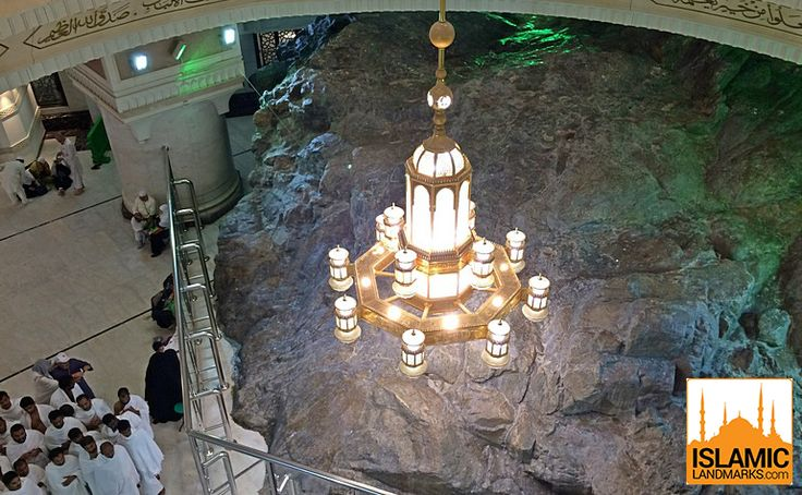 Mount Safa, inside Masjid al-Haram, is the point from where pilgrims start the Sa'ee to emulate the actions of Hajra (upon her be peace).