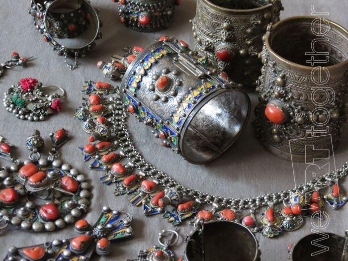 Bijoux Algerie Argent : Les bijoux kabyles en argent pr?sentent la