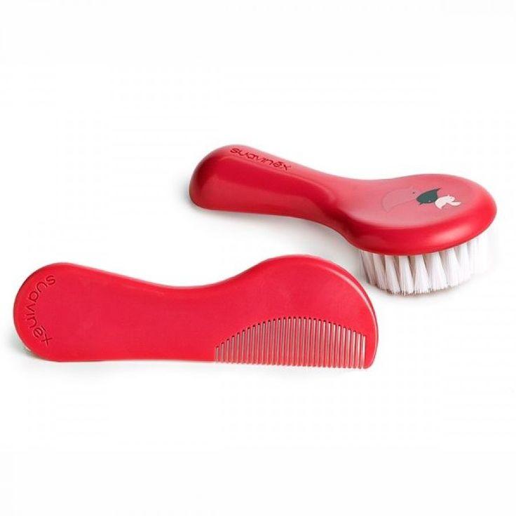 Suavinex Fırça Tarak Seti Kırmızı
