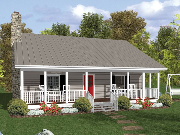 296 best Casas images on Pinterest | Facades, Small house plans ...