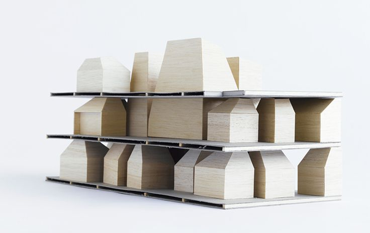 Physical Model | An urban situated centre provides a miniature city for its children