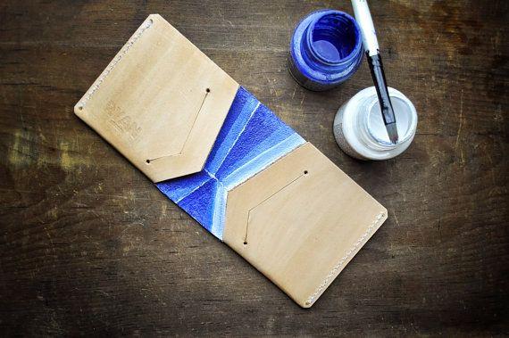 Dünne Leder Brieftasche, Minimal Brieftasche, Oyster Card Holder, minimalistischen Brieftasche, Ledermappe, Kreditkarteninhaber, Mens Wallet...