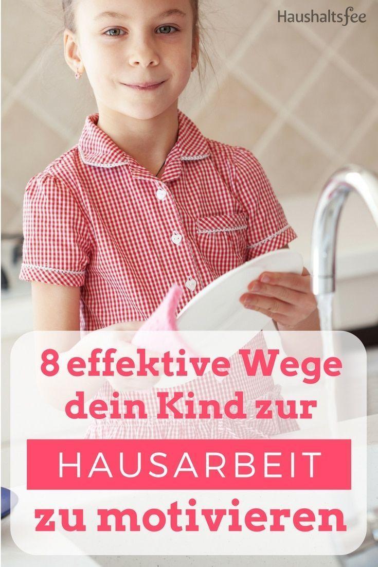 Kinder Und Hausarbeit Passende Aufgaben Und Richtige Motivation Hausarbeit Kindererziehung Kinder