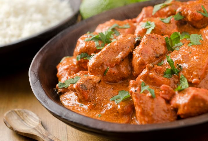 A Pinch of This, A Dash of That; Aromatic Butter Chicken