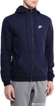 Толстовка Nike M Nsw Hoodie Fz Ft Club 804391-451 XL