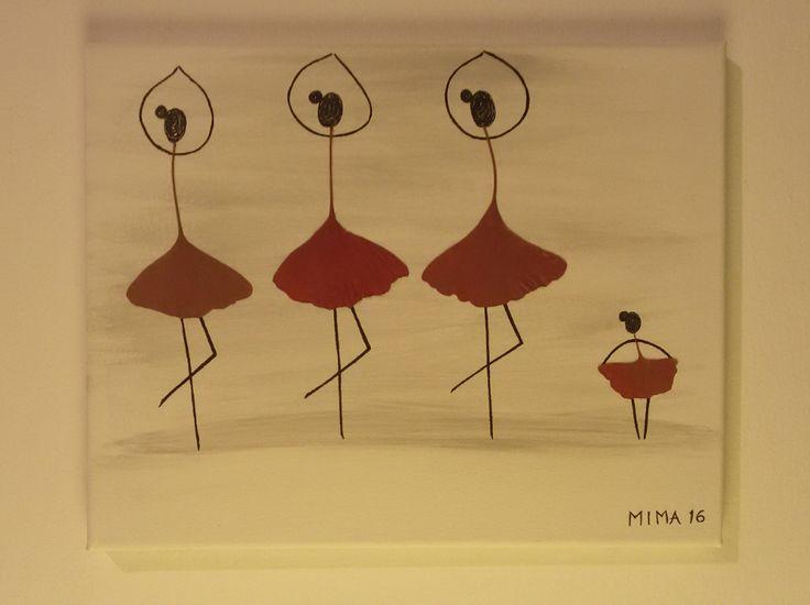 Red Ginkgo Dancers