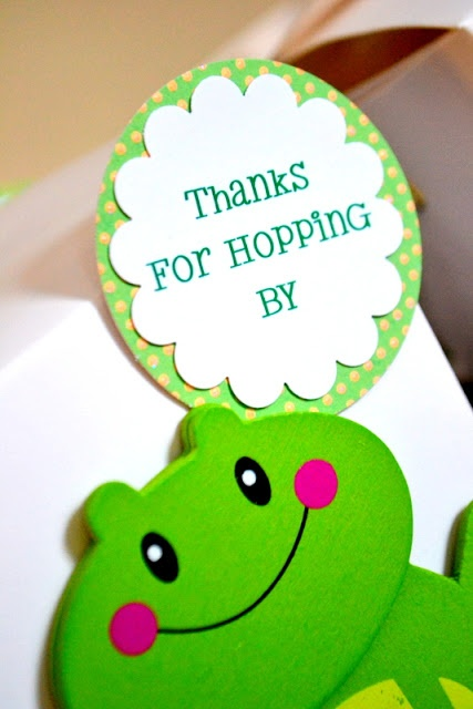 MY PARTY PASSION: One Lucky Frog - a Birthday Party