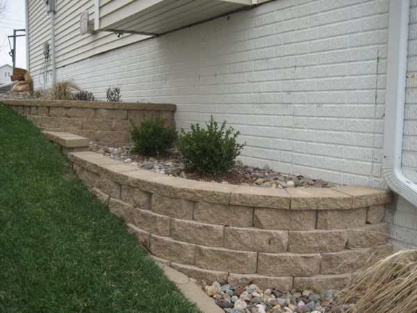 Retaining Wall Lawn Amp Garden Pinterest The O Jays