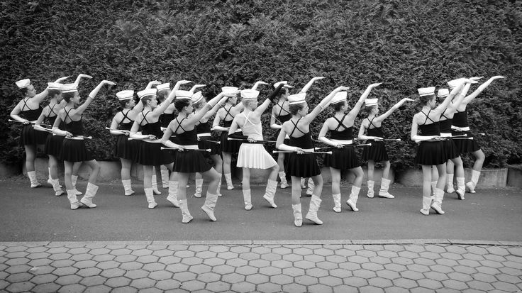 Mazsorett csoport Pécs Majorette ruhák Twirling
