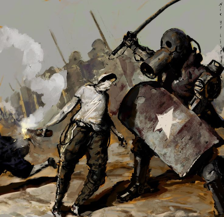 concept robots: Military robot concepts by Nikolay Yeliseyev