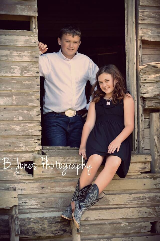 Kids Brother & Sister Farm House Photography