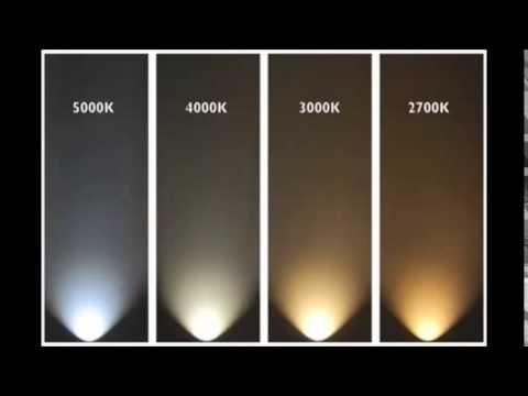 Temperatura De Color Ilux Led Technology 5000k 4000k 3000k 2700k