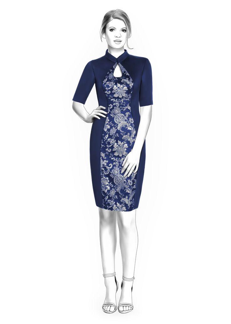 222 besten sew : dress : pattern Bilder auf Pinterest | Kleider rock ...