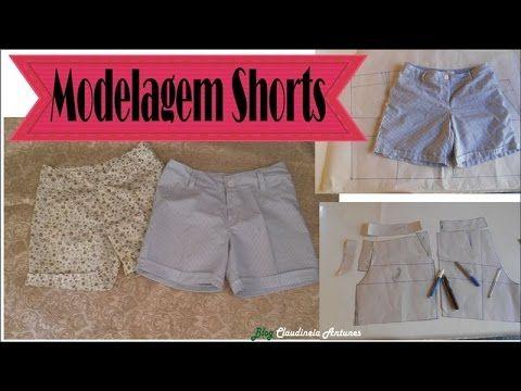 Neste video mostro como modelar, fazer molde de um shorts usando o molde base calça/short. Esta aula serve para fazer molde feminino, masculino e infantil e ...