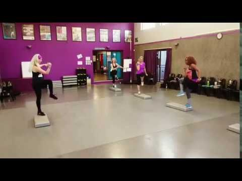 Fitness Teaser 28 - Zumba Step