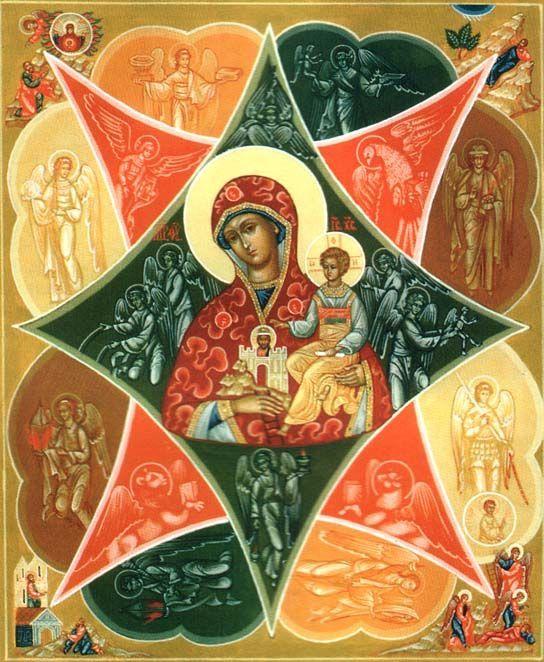 икона Божьей матери «НЕОПАЛИМАЯ КУПИНА»