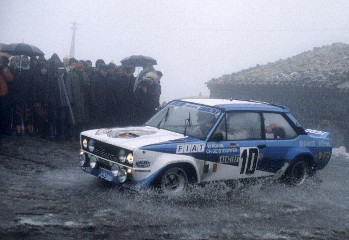 Fiat 131 Ab Rhorl Geistdorfer Montecarlo 1980