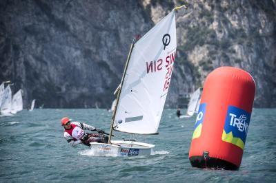 Opti Sailing Race