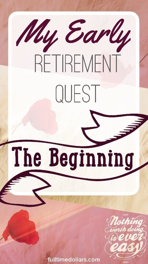 Do you have plans to retire? Read more about the beginning of my retirement journey. Article via @fulltimedollars #earlyretirement #financialfreedom #wealthmindset