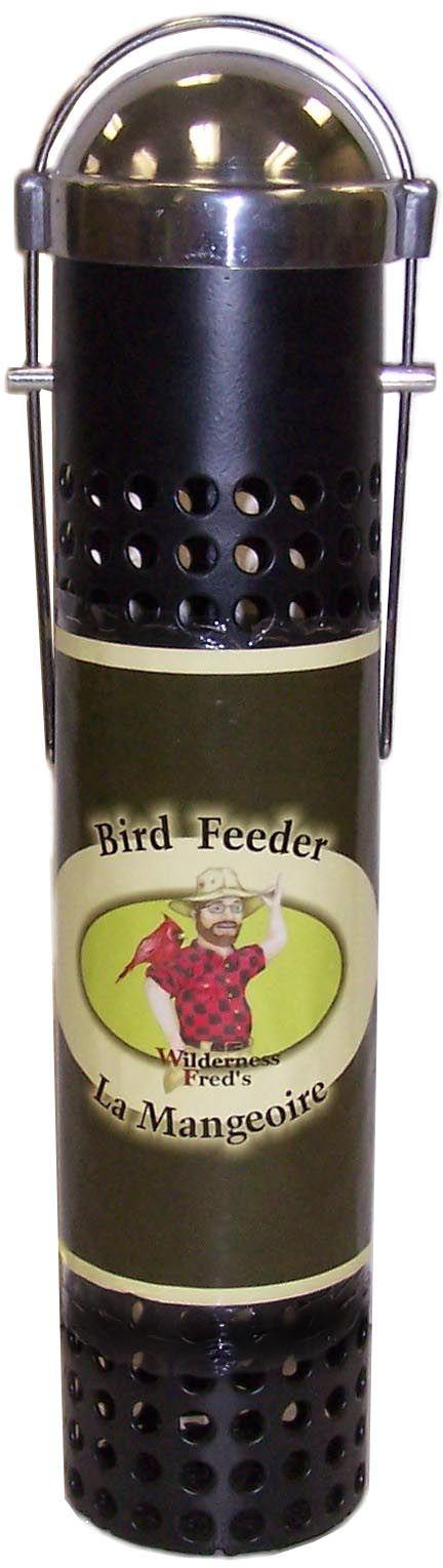 "PF10  10"" Metal Peanut and sunflower feeder  10"" Black Steel Peanut and Sunflower Feeder. Silver lid. hangs. Woodpecker Friendly!"