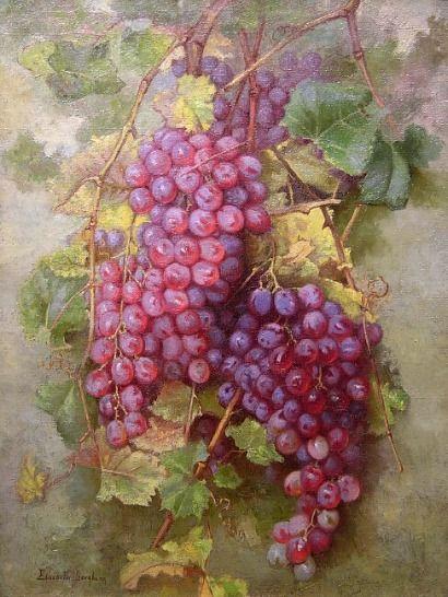 Elizabeth Borglum California Grapes Late 19th - early 20th century