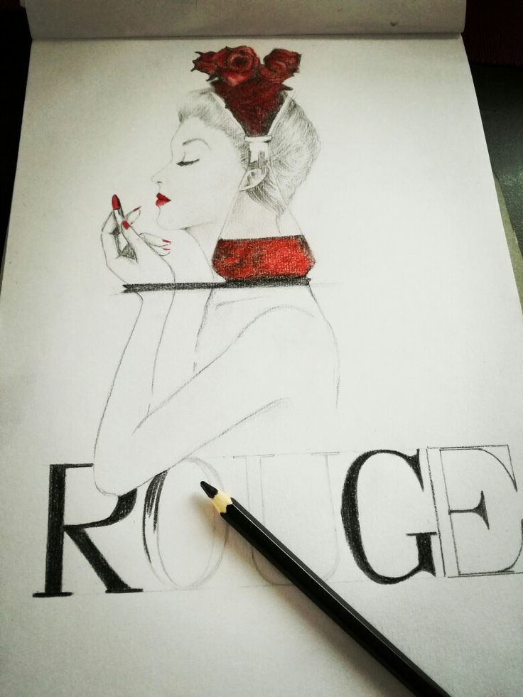 Fashion illustration. Click for more on my blog!