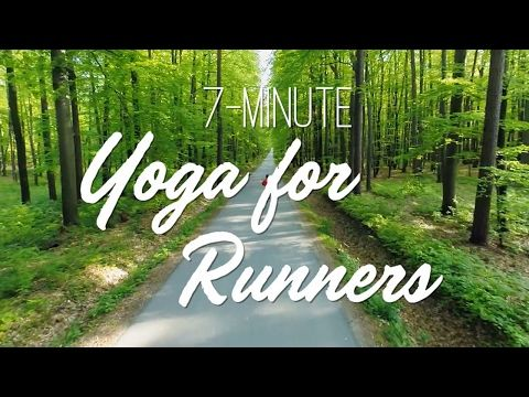 7-Minute Yoga For Runners - Yoga With Adriene - YouTube