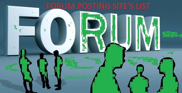 Forum posting is very much necessary to increase backlink & visitors to a website. I will share 100 forum posting site's list which is signature allowed.