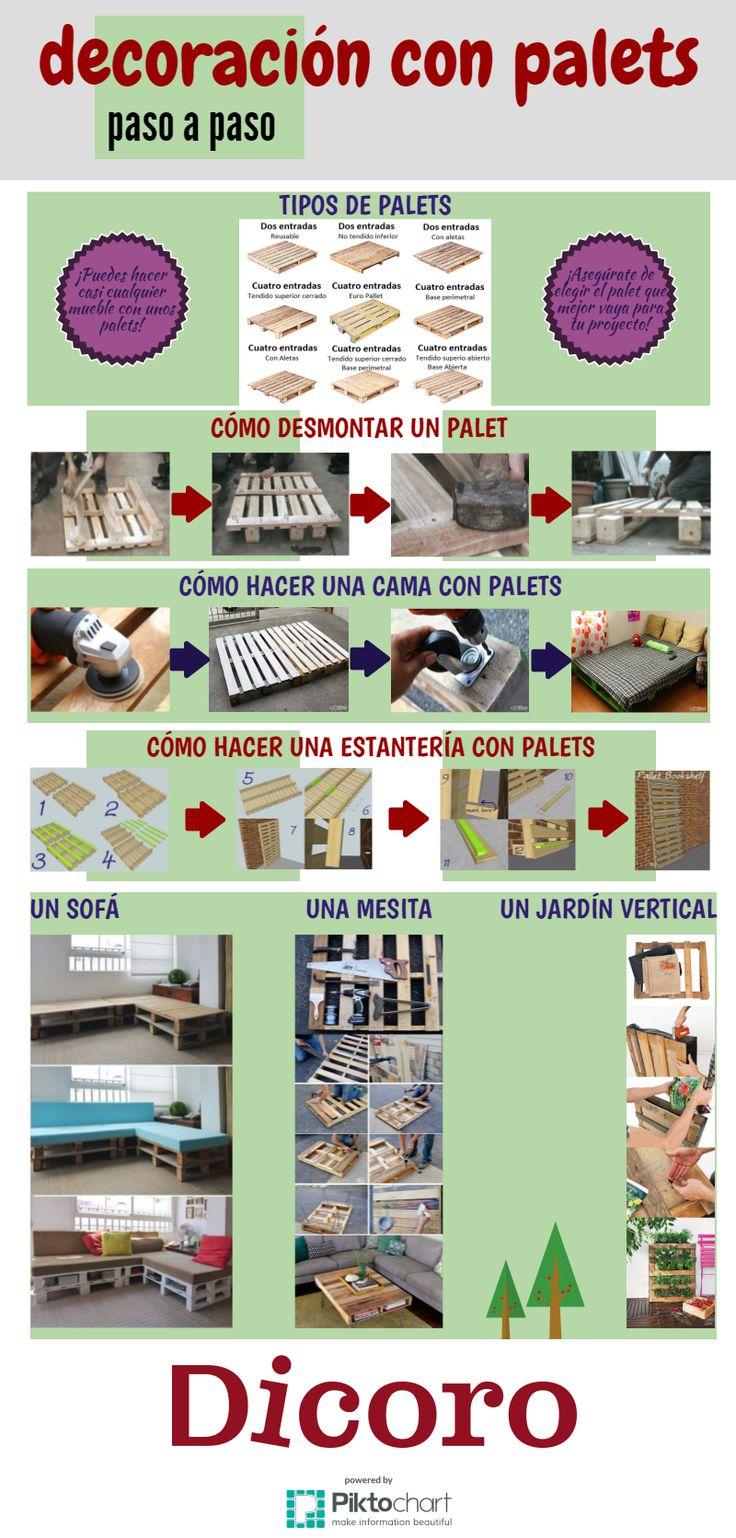 1000 images about dys con pales y cajas de madera on for Decoracion con palets