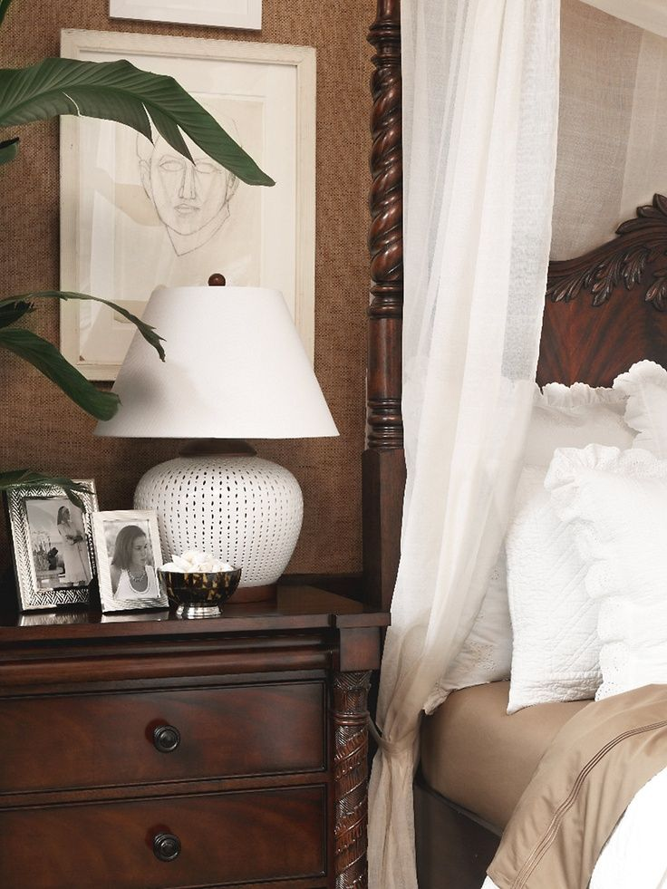 British Colonial Bedroom in Neutrals (Ralph Lauren) - Ana Rosa