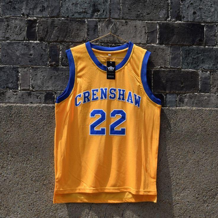 Quincy McCall Crenshaw High School Basketball Jersey