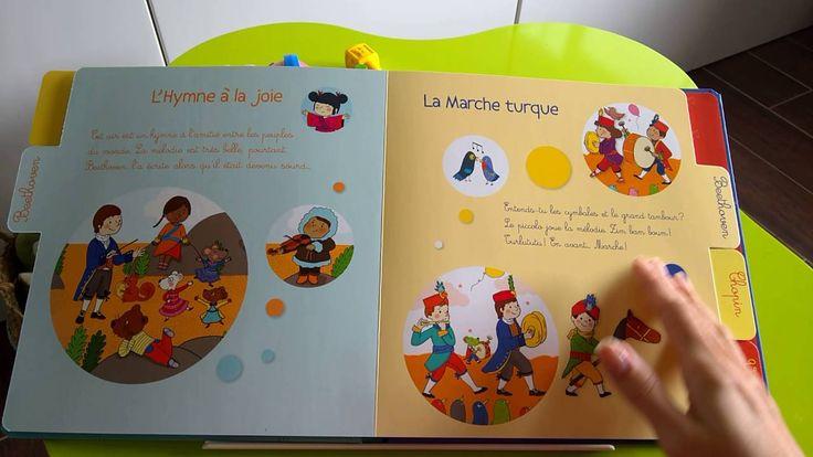Mon premier livre de musique classique (avec CD) - Editions Gründ - éveil musical - bébé - enfants - écoute - musique classique