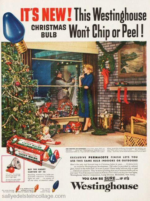 1950s christmas bubble lights - Google Search
