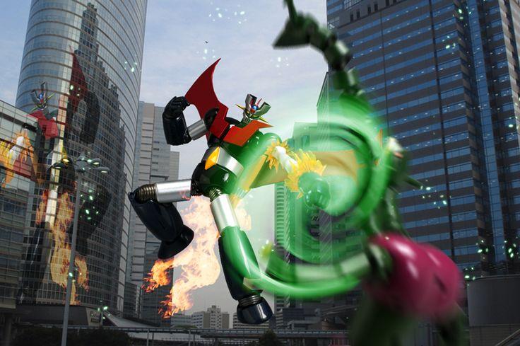 【レビュー】バンダイ スーパーロボット超合金 マジンガーZ 武器セット [マジンガーZ]