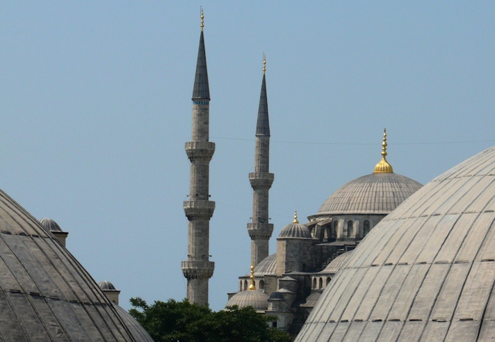 View from Hagia Sophia, Istanbul