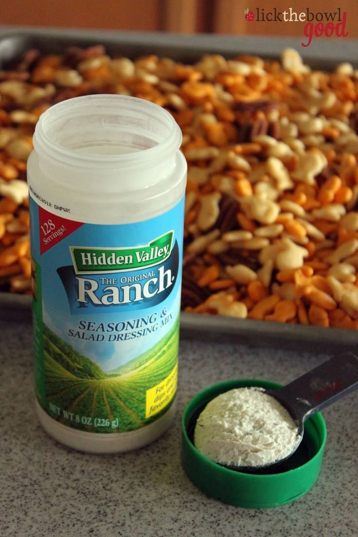 Goldfish Bowl Bites ~ This snack is buttery, crunchy salty, and loaded with Ranch flavor!