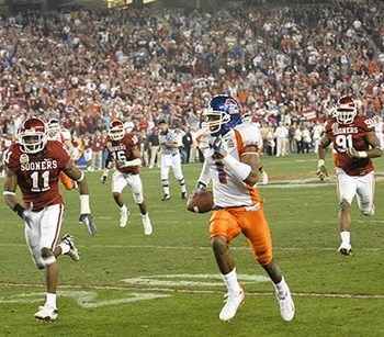 BEST. GAME. EVER!  Boise State upsets Oklahoma in 2007 Fiesta Bowl.
